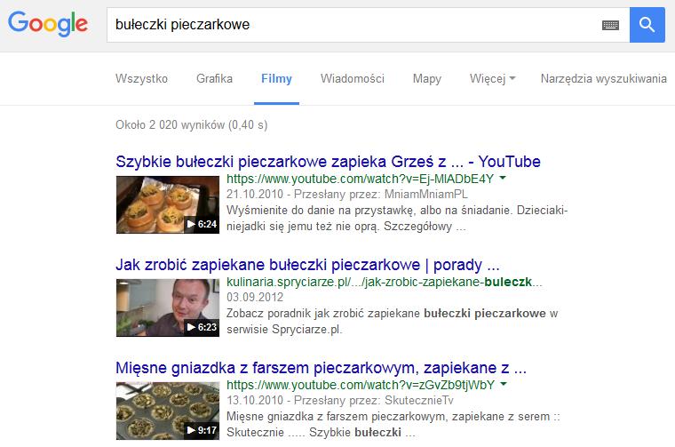 wysoki ranking w wyszukiwarce