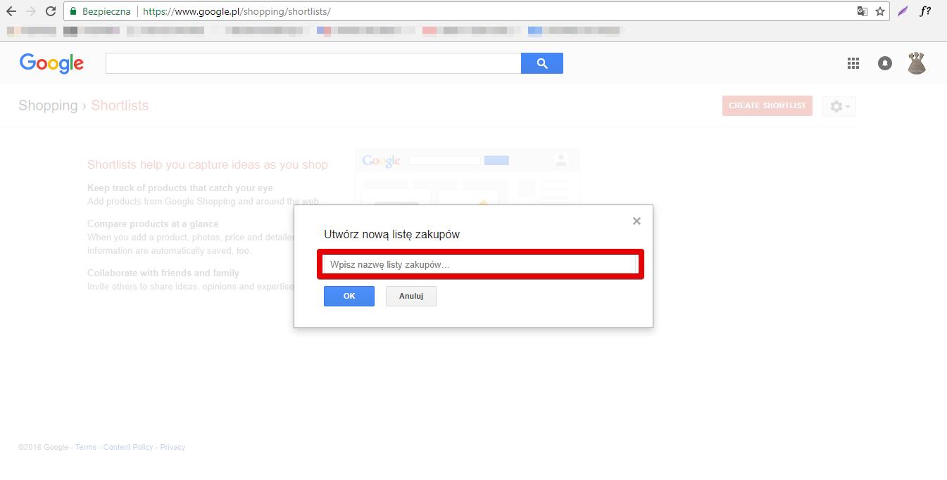Shortlists Google Shopping - 2