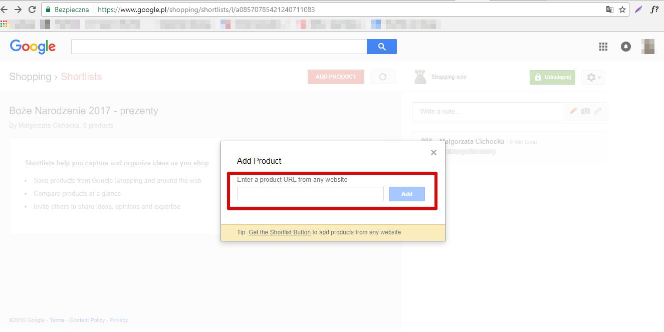 Shortlists Google Shopping - 5