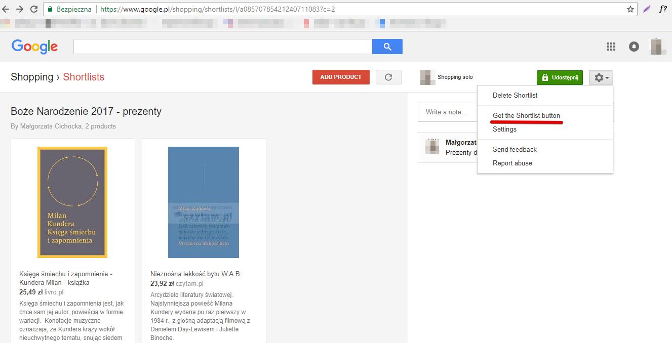 Shortlists Google Shopping - 7