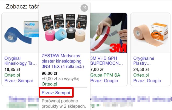 Reklama produktowa Google 2