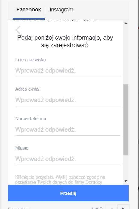 Pozyskanie kontaktu na Facebooku 8
