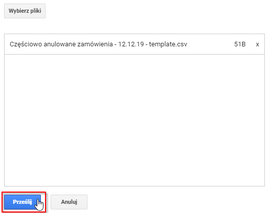 zwroty google analytics 1.13