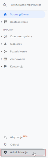 zwroty w google analytics