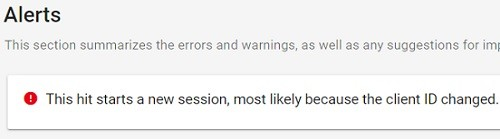 alert google tag assistant