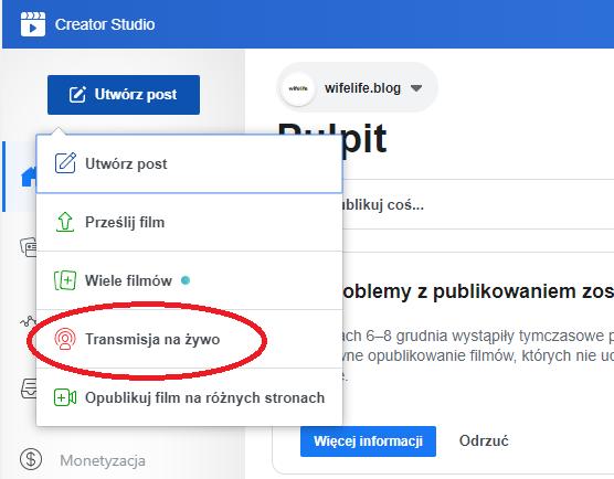 Facebook Creator Studio 2