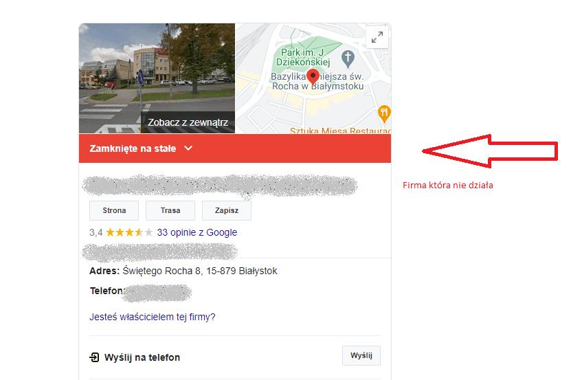 google moja firma pozycjonowanie 3