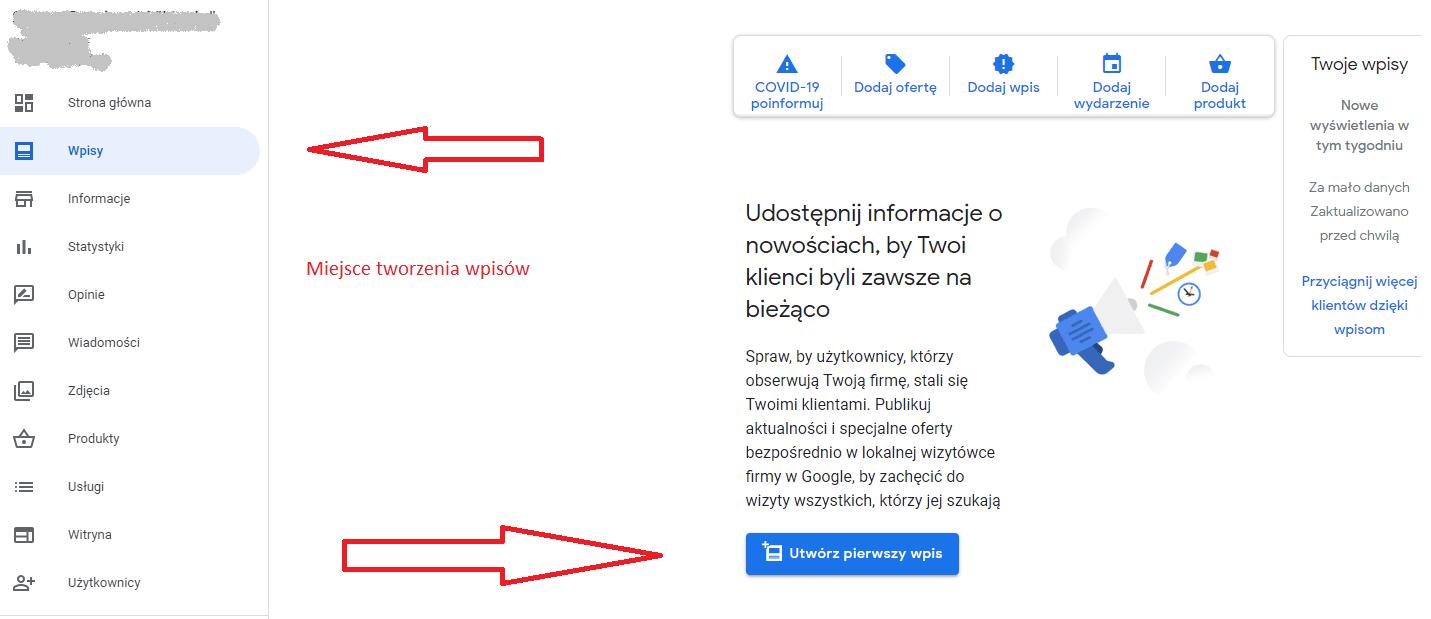 google moja firma pozycjonowanie 4