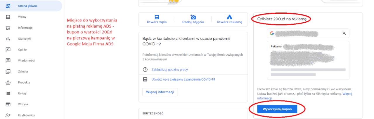 google moja firma pozycjonowanie 5