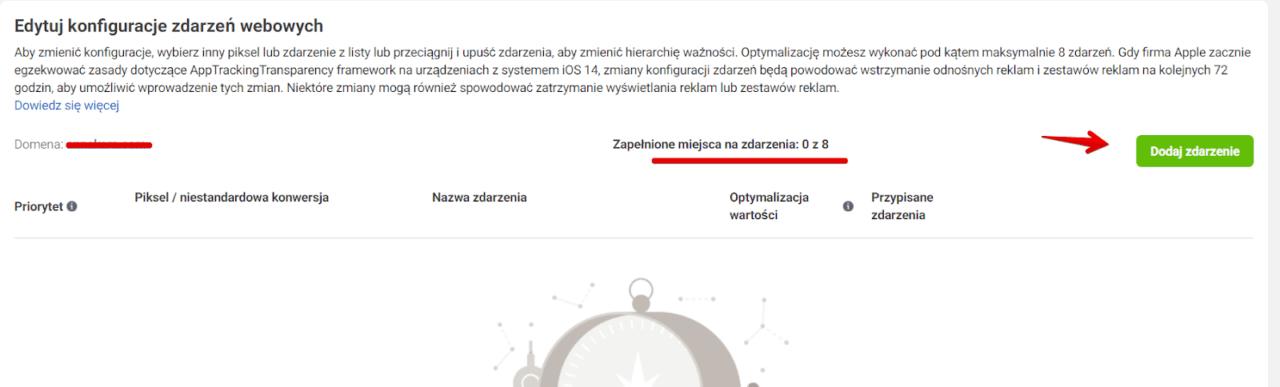 iOS 14 konfiguracja zdarzeń webowych 4