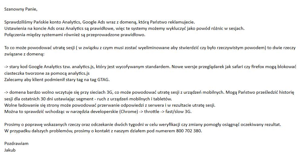 case study rea - support google