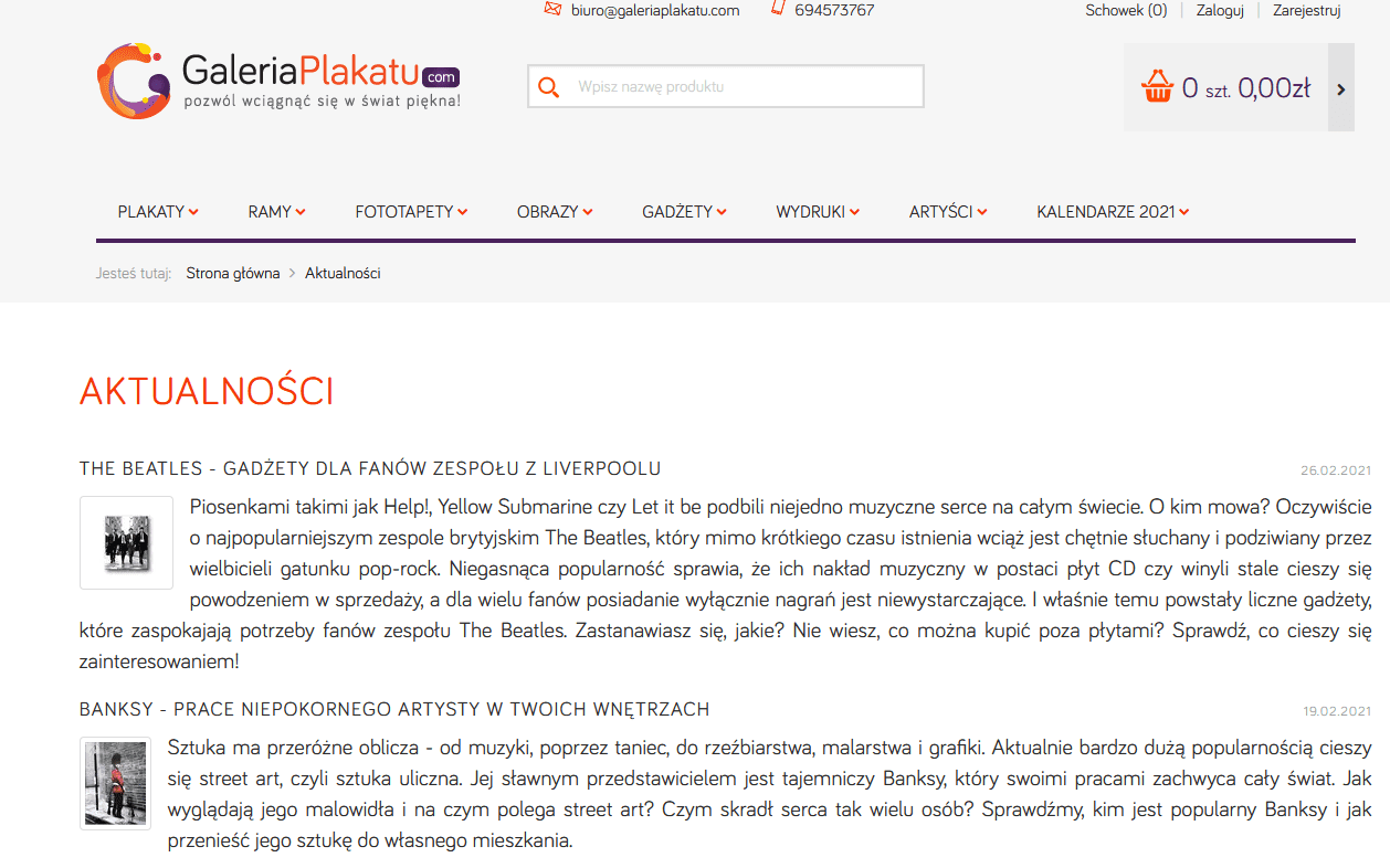 checklista CRO - blog
