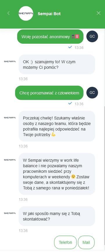 checklista CRO - bot