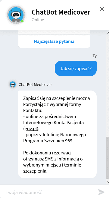 checklista CRO - chatbot 2
