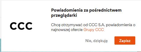 checklicta cro - remarketing powiadomienie