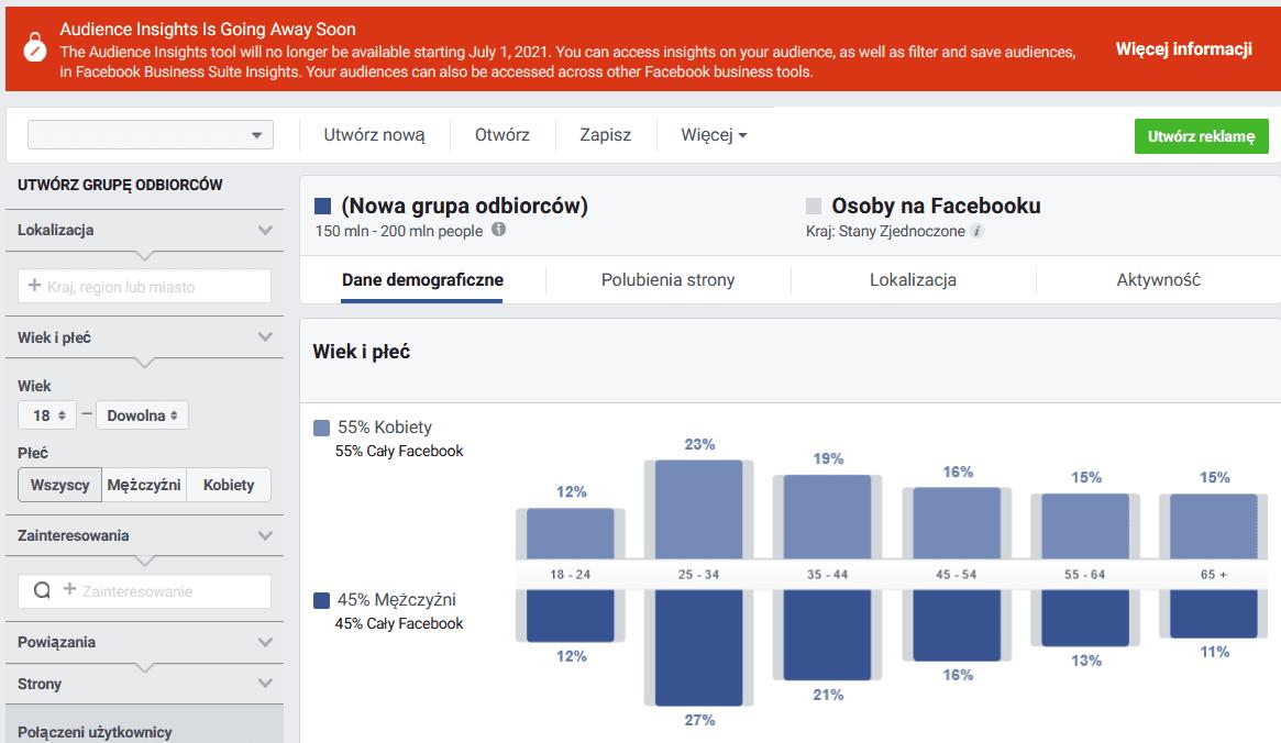 Analityka od Facebooka - nadchodzą duże zmiany - insights
