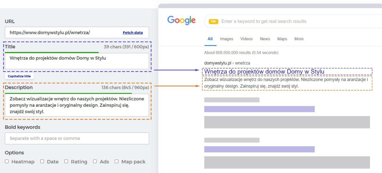 metadane-domywstylu - optymalizacja obrazów pod Google Grafika