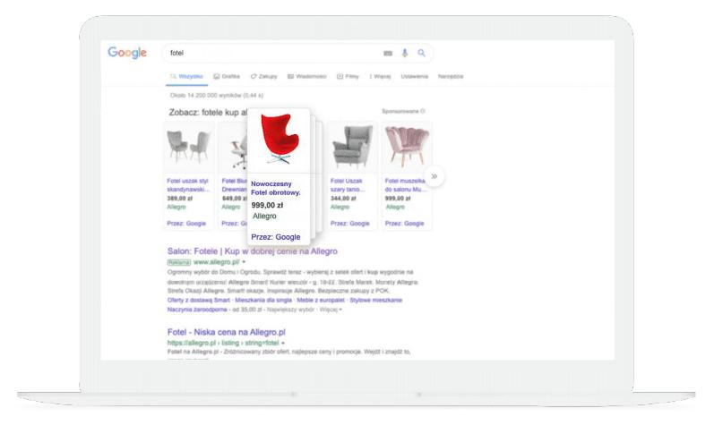Allegro Ads - reklama w Google