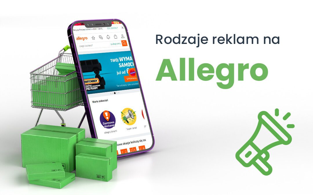 Rodzaje reklam na Allegro