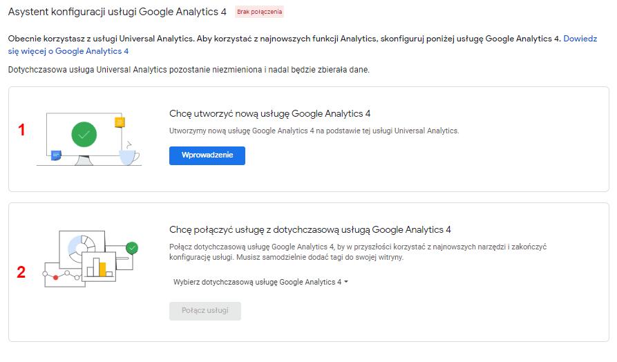 Jak podpiąć Universal Analytics